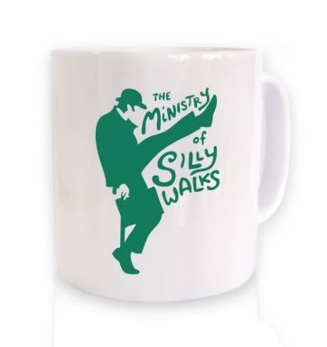 The Ministry of Silly Walks mug