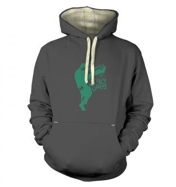 The Ministry of Silly Walks  hoodie (premium)