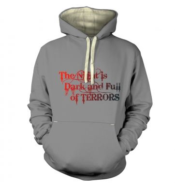 The Night is Dark and Full of Terrors - Game of Thrones Premium Hoodie