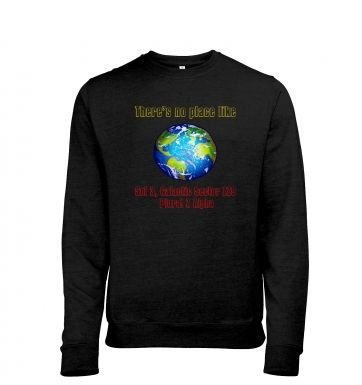 Theres No Place Like Sol 3 heather sweatshirt