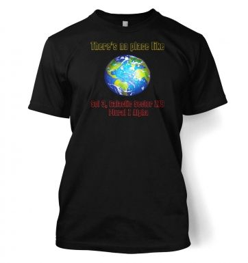 Theres No Place Like Sol 3  t-shirt