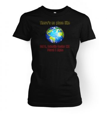 Theres No Place Like Sol 3  womens t-shirt