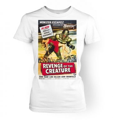The Revenge Of The Creature   womens t-shirt
