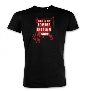 This Is My Zombie Killing   premium t-shirt