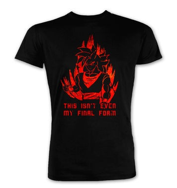 This Isn't Even My Final Form premium t-shirt
