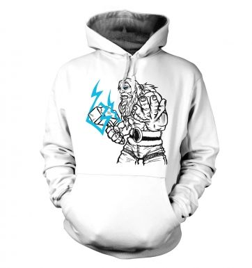 God of Thunder Lineart Thor hoodie