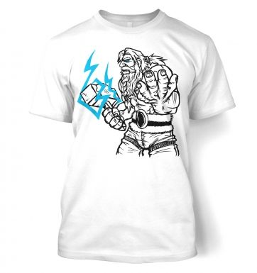 God of Thunder Lineart Thor t-shirt