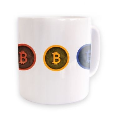 Three Bitcoins mug