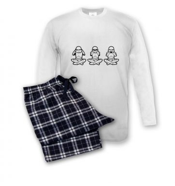 Three Stormtrooper  pyjamas (mens)