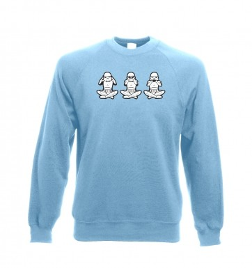 Three Wise Stormtroopers sweatshirt