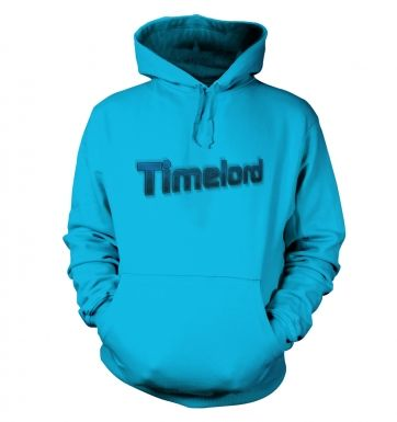 Timelord Futuristic hoodie