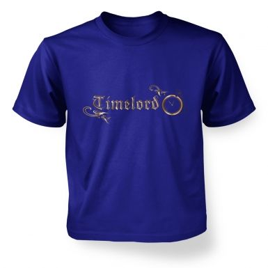 Timelord Ornate kids' t-shirt