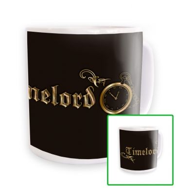 Timelord Ornate mug