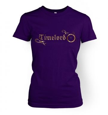 Timelord Ornate women's t-shirt