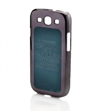 Time Travel Conference Galaxy SIII phone case