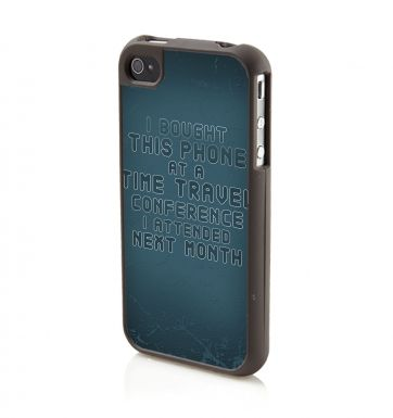 Time Travel Conference iPhone 4/4S phone case