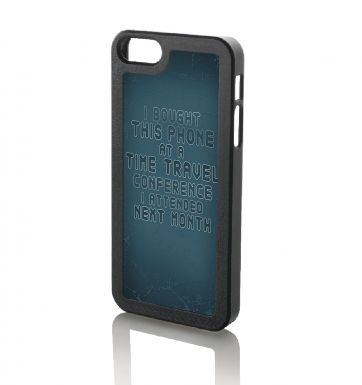 Time Travel Conference iPhone 5/5S phone case