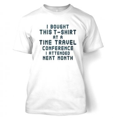 Time Travel Conference t-shirt