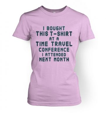 Time Travel Conference women's t-shirt