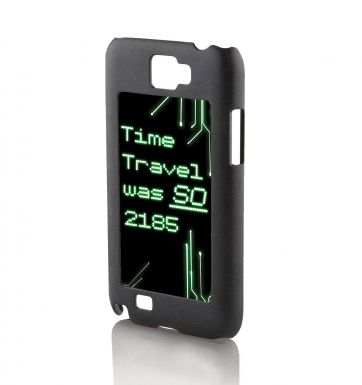 Time Travel Was So 2185 Galaxy Note 2 phone case