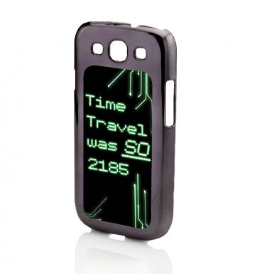 Time Travel Was So 2185 Galaxy SIII phone case