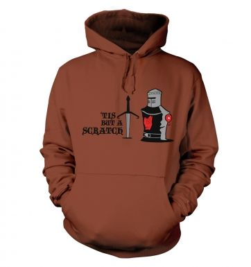 Tis but a Scratch Adult Hoodie