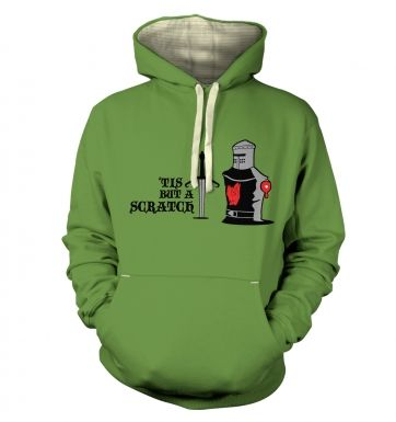 Tis but a Scratch Adult Premium Hoodie