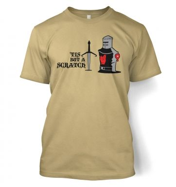 Tis but a Scratch Adult T shirt
