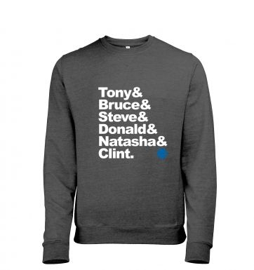 Tony And Bruce And heather sweatshirt