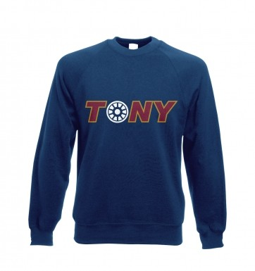 Tony Arc Reactor sweatshirt