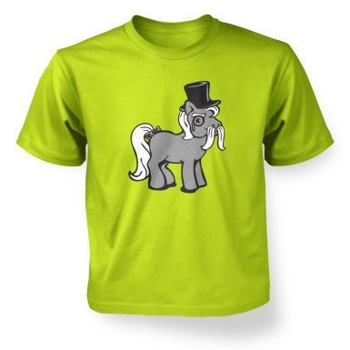 Top Hat Pony ' kids t-shirt