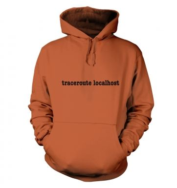 Traceroute localhost hoody 