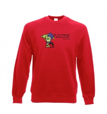 Treasure Goblin sweatshirt