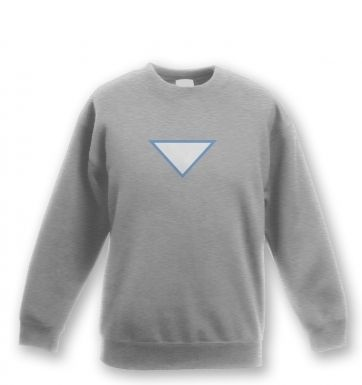 Triangular Power Cell kids' sweatshirt