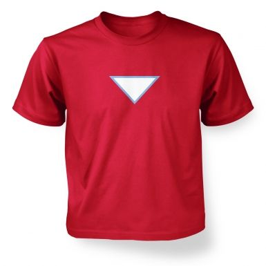 Triangular Power Cell Kids T-shirt