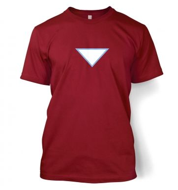 Triangular Power Cell men's t-shirt