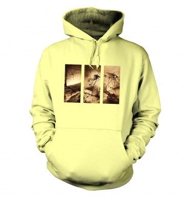 Triptych War Of The Worlds hoodie
