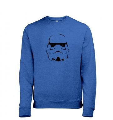 Trooper Helmet heather sweatshirt