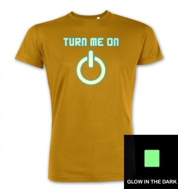 Turn Me On Power Symbol Glow In The Dark premium t-shirt
