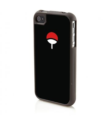 Uchiha Family Crest (BLACK) - Apple iPhone 4/4s Phone case