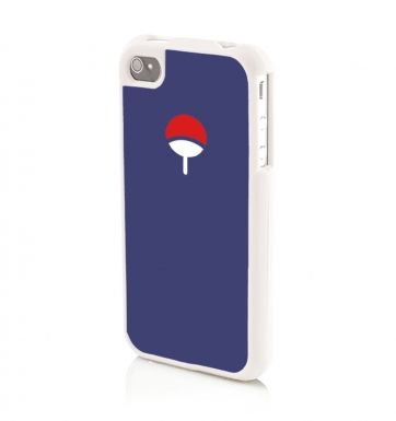 Uchiha Family Crest (NAVY) Apple iPhone 4/4s Phone case