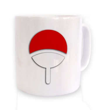 Uchiha Family (White Background) mug