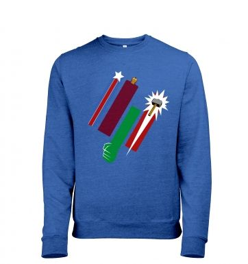 United Colours Of Avengement men's heather sweatshirt