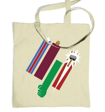 United Colours Of Avengement tote bag