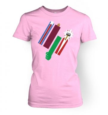 United Colours Of Avengement women's fitted t-shirt