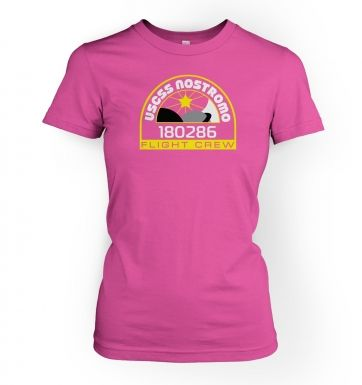 USCSS Nostromo Crew Badge women's t-shirt
