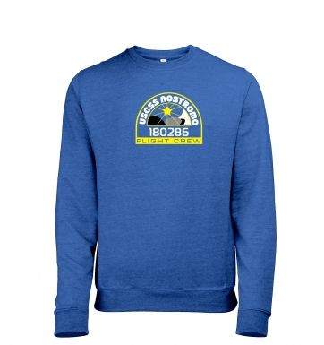 USCSS Nostromo Crew Badge  - Mens Heather Sweatshirts