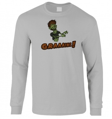 Veggie Zombie long-sleeved t-shirt