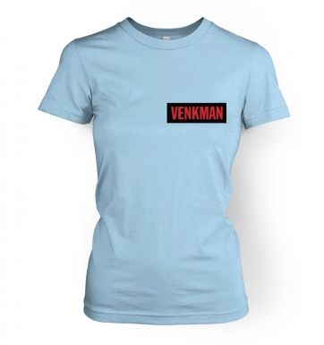 Venkman Name Tag Womens T shirt