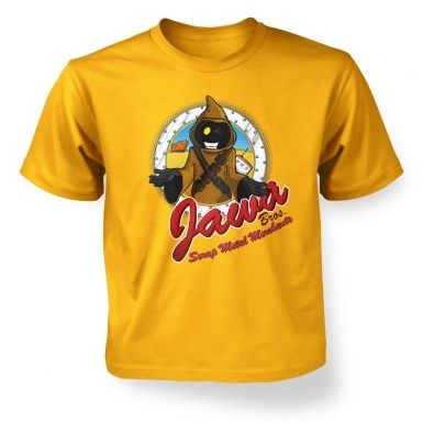 Version 2 Jawa Bros Scrap Metal Merchants kids' t-shirt